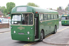 ( Preserved ) London Transport. RF600 NLE600  . Sevenoaks Running Day . Sunday 19th-May-2013 . (AndrewHA's) Tags: bus country route area iv regal 413 londontransport aec rf600 nle600 preservedbus metcamm sevenoaksrunningday