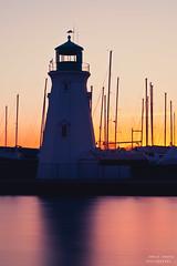 Port Dalhousie Lighthouse (Ernie Kwong Photography) Tags: longexposure lighthouse seascape ontario canada water sunrise landscape pier nikon harbour 85mm niagara le lakeontario stcatherines dalhousie portdalhousie nd110 leefilters d700 gradndhard06