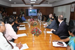 British Cabinet Minister Eric Pickles visits Kerala (UK in India) Tags: kerala municipality aluva ericpickles