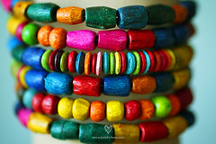 Lovely Indian Bangles (LikClick Photography) Tags: wood india macro bangles    brightcolorful