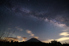 MT FUJI FOREVER! (Yuga Kurita) Tags: beautiful beauty japan night stars landscape japanese star fuji mt awesome galaxy fujisan 富士山 worldheritage fujiyama milkyway 星空 世界遺産 富士 天の川 1424 おめでとう 銀河 星景 d800e 日本の夜