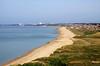 Hengistbury Head Beach, Dorset (**Anik Messier**) Tags: uk england beach landscape coast sand aerialview shore dorset hengistburyhead poolebay coastuk welcomeuk