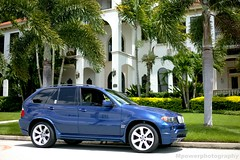 BMW X5 4.8is (MPowerPhotography) Tags: blue st 50mm florida f14 painted sigma mans le bmw pete 1ds moulding x5 48is 20x11 mpowerphotography