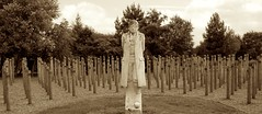 Shot at Dawn - National Memorial Arboretum (Crosby Stone) Tags: nationalmemorialarboretum shotatdawn