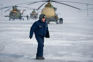 Expedition 26 Soyuz Landing Preparation