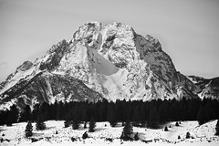 Mt. Moran (Zach Dischner) Tags: park winter snow mountains cold nature canon landscape eos natural artistic snowy mark peak grand jackson mount national ii 5d wyoming tetons scape rugged wy wintery 2013 march2013