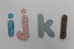 Alfabeto em tecido (ceciliamezzomo) Tags: handmade letters fabric letter alphabet patchwork letras tecido alfabeto