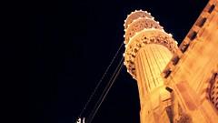 The Blue Mosque (ReinierVanOorsouw) Tags: travel night train turkey video screenshot minaret screengrab istanbul canon5d bluemosque traintravel interrail turkije easterneurope stanbul blauwemoskee treinreizen 5dmarkii canon5dmarkii beyondbordersmedia