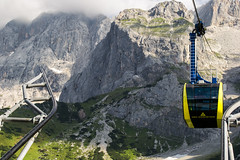 Der Dachstein (Gikon) Tags: snow mountains alps ice austria landscapes nikon summertime 1855mm dachstein cablelift gikon d3100