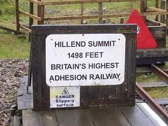 Hillend Summit (coolowb) Tags: train railway wanlockhead leadhills leadhillsandwanlockheadrailway hillendsummit