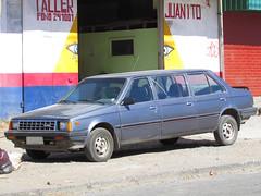 Nissan Sunny 1.3 DX 1988 6 puertas (RL GNZLZ) Tags: nissan sunny carspotting nissansentra