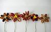 (pensamientosencoloresprimarios) Tags: flowers flores fabric decor kanzashi