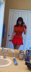 Angie Griffin Dressed As Velma (Screen Team) Tags: costume cosplay jessicanigri angiegriffin screenteam screenteamshow
