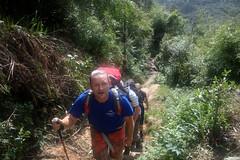 Made It! (pbr42) Tags: people nature trekking hiking thomas vietnam trail sapa fansipan