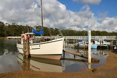 Moored (jenni747) Tags: water boat australia tasmania the4elements