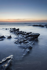 Dollar cove (Simon Bone Photography) Tags: sea sky cloud sun beach silhouette twilight sand rocks cornwall waves dusk helston aftersunset gunwalloe cornishcoast cornishsunsets dollarcove canonef1740mmlf4 canoneos5dmkii hitechnd09reversegrad wwwsimonbonephotographycouk