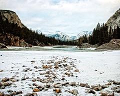 Bow River (DASEye) Tags: winter snow river nikon alberta bow banff bowriver banffnationalpark davidadamson daseye