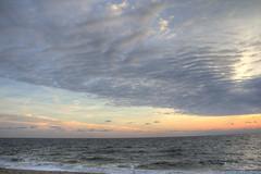 Dawn on the Beach (Dave Aragona) Tags: ocean beach sunrise landscape dawn newjersey waterfront asburypark jerseyshore
