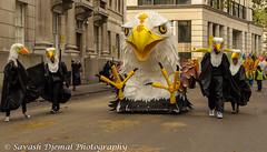 DSC_0160.jpg (Sav's Photo Gallery) Tags: street city uk people london eagle outdoor candid military capital marchingband cityoflondon horseguards lordmayorsparade d7000 savash