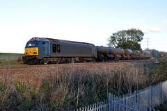 67003 67006 aa Wellingborough 011114 D Wetherall (MrDeltic15) Tags: dbs wellingborough watercannons midlandmainline class67 rhtt 67003 67006 3j93