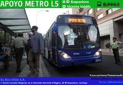 Apoyo Metro L5 (SuBus Chile) (Mr. Mobitec) Tags: chile santiago bus buses volvo publictransport metrodesantiago transporte santiagodechile providencia metrobaquedano baquedano plazaitalia transantiago plazabaquedano transportepúblico santiagocentro línea1 volvob7rle b7rle granviale línea5 subus marcopologranviale troncal2 subuschile apoyometro serviciosdeapoyo fallametro alertametro