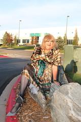 new108104-IMG_8253t (Misscherieamor) Tags: tv sitting feminine cd tgirl transgender mature sissy tranny transvestite crossdress ts gurl tg travestis travesti travestie m2f bigrocks silkdress xdresser tgurl slipshowing