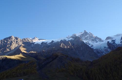 La Meije et ses glaciers