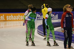 A37W1086 (rieshug 1) Tags: 500 sprint 3000 1500 1000 dames schaatsen speedskating thialf eisschnelllauf knsb ijsstadionthialf trainingswedstrijd trainingswedstrijdjoenmerkenteams