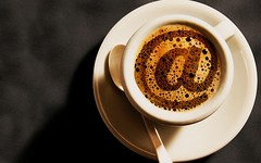 CSM002559 (karthi.karthick1289) Tags: cup coffee internet cups dishes symbols communications cyberspace spoons global overview saucers flatware punctuation tableware kitchenware informationsuperhighway drinkingvessels culturalartifacts computernetworks servingutensils atsymbol atsigns