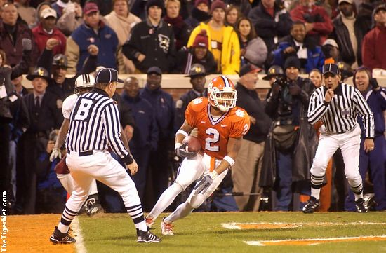 Clemson vs. South Carolina - 2002