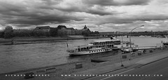 Steamboat on the River Elbe (Chalky666) Tags: river saxony transport cruising steamboat pleasure elbe