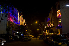 Light the Darkness (Shikher Singh) Tags: india cars festival night lights colours delhi decoration diwali newdelhi deepawali decorativelights shikhersimagery shikhersimagery