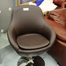 Austin swivel tub chair leatherette