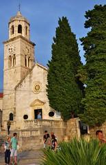 Church of St.Nicholas (Cavtat) (stevelamb007) Tags: trees people steps croatia dubrovnik cavtat harbortown d90 churchofstnicholas stevelamb ragusavecchia