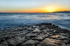 Sunset in the Long Beach / Puesta de sol en la Playa Larga.jpg (aldairuber) Tags: sunset españa beach spain mediterranean mediterraneo catalonia longbeach catalunya puestadesol ocaso cataluña tarragona salou goldcoast costadorada