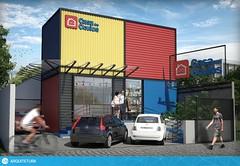 Casa do óculos (Studio VTX) Tags: arquitetura casa container curitiba apartamento interiores comercial arquiteto construção projetar residência construir decorar projetocomercial casacontainer studiovtx