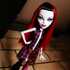 You know it used to be mad love (MyMonsterHighWorld) Tags: monster high doll inspired freaky frankie fusion phantom stein mattel ghoul 2014 operetta