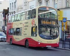 Brighton & Hove 475 (BJ63 UJC) Brighton 15/12/14 (jmupton2000) Tags: uk bus sussex coast eclipse volvo coach brighton hove south group company ii wright gemini goahead wrightbus b9tl bj63ujc
