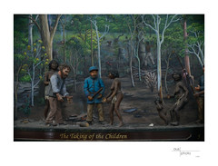 The Taking of the Children (heritagefutures) Tags: street camera wood people building heritage history clock architecture mall shopping photography nikon artist baker with antique centre tubes sydney australia center scene victoria ring queen f adapter nsw series impressions extension concept 12mm simulator qvb figures carvings rouse naf dg stepup d800 meike focussing m39 anastigmat helicoid nikonmount 4668mm 3942mm
