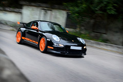 Porsche 911 997 GT3 RS (Ben Molloy Automotive Photography) Tags: hk orange black car photography ben o 911 automotive hong kong porsche vehicle shek molloy rs gt3 997