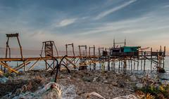Trabocco Punta Isolata (Paolo Scafati) Tags: costa italia mare punta dei abruzzo trabocco trabocchi isolata vallevi