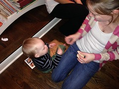 """Mommy Gives Paul Some Crackers • <a style=""""font-size:0.8em;"""" href=""""http://www.flickr.com/photos/109120354@N07/15932231110/"""" target=""""_blank"""">View on Flickr</a>"""