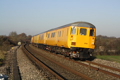 DBSO 9703 @ Charfield [3Z05] (MattWardrobe) Tags: test 30 train early driving open plymouth rail brake network standard derby minutes rtc 1024 9703 laira dbso trsmd 03122014 3z12