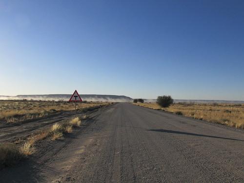 Sur la route, Namibie
