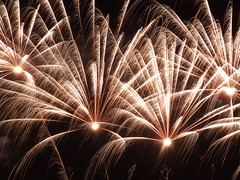Fireworks (vegeta25) Tags: light sky night dark lights fuji fireworks newyear fujifilm myfuji s3200 week12015 52weeksthe2015edition weekstartingthursdayjanuary12015