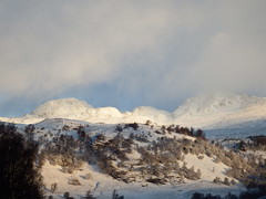 """Early morning sun (nz_willowherb) Tags: morning trees winter cloud sun snow see scotland early tour perthshire visit ridge rays tarmachan to"""" """"go"""