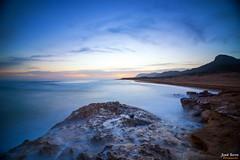 Atardece en Calblanque (Legi.) Tags: longexposure seascape landscape atardecer nikon tokina cartagena 116 largaexposicin d600 calblanque 1116