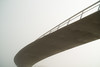Übergang (lambda_X) Tags: grau brücke beton trist abstrakt geschwungen