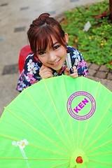 Jap0022 (Michelle-Qiu) Tags: cute girl beautiful asian japanese fan pretty sweet chinese fair kimono lovely