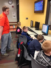 """Kurtis Bowen at the 2014 Hour of Code • <a style=""""font-size:0.8em;"""" href=""""http://www.flickr.com/photos/109120354@N07/16069107086/"""" target=""""_blank"""">View on Flickr</a>"""